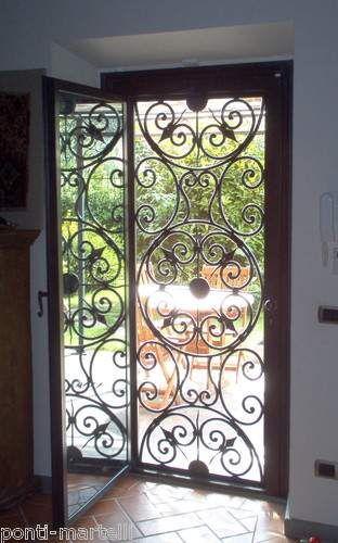 Oltre 25 fantastiche idee su porte in ferro battuto su - Cancello porta ingresso ...