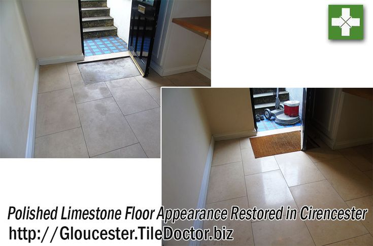 This customer was looking to rent out his property in the East Gloucestershire town of Cirencester, the largest in the Cotswold District. However, he found that many prospective tenants were put off by the condition of the Limestone floor tiles on the ground floor.