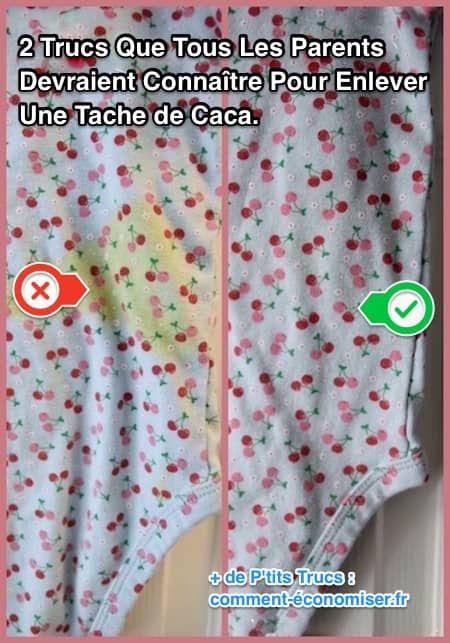 Taches de Caca sur les Vêtements de Bébé : Comment les Enlever FACILEMENT.