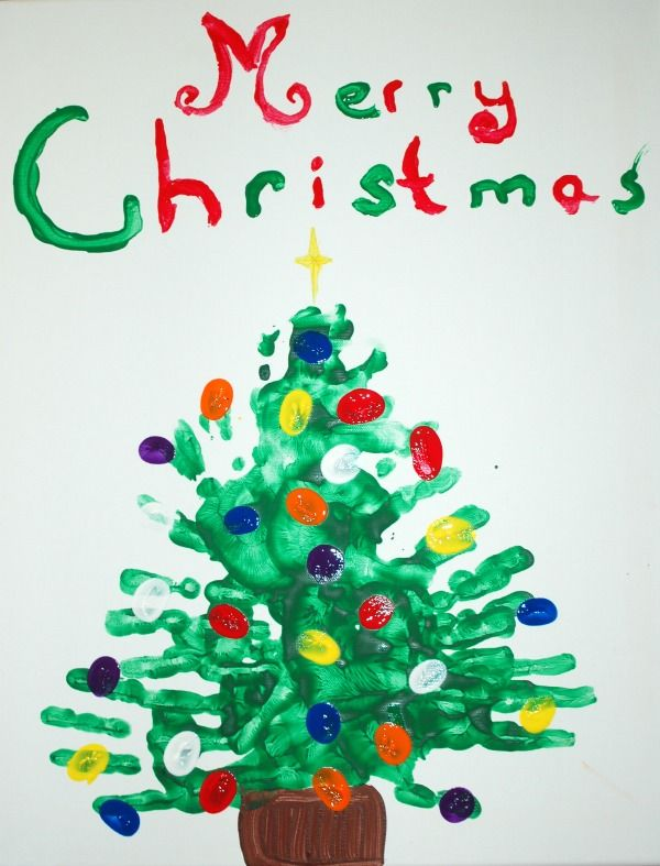 Handprint Christmas Craft Ideas Part - 27: 1000+ Ideas About Handprint Christmas Tree On Pinterest Kids Christmas Craf.