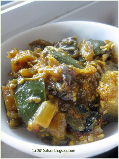 44 best bengali food images on pinterest bengali food ahaar spicy eggplant and potato sabzi alu beguner tarka forumfinder Choice Image