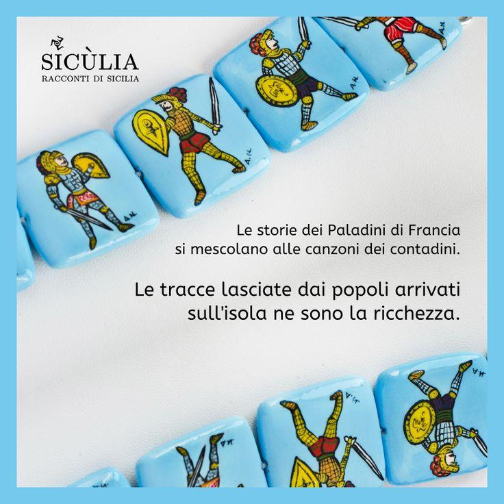 Gioielli Sicilia. #Bracciale in agata realizzato con 6 elementi dipinti a mano, gancio in argento. #Sicilia gioielli visita il nostro shop: http://www.bongiovannigioielli.com/bracciali/25-i-pupi-siciliani.html