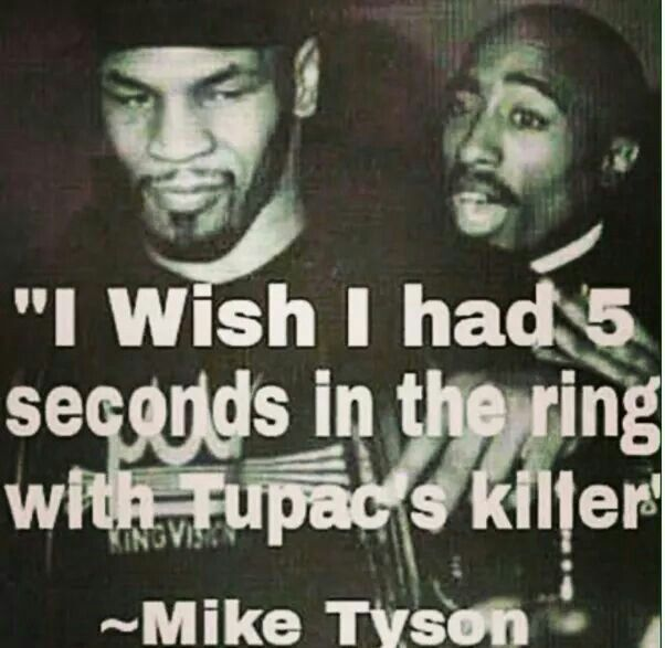 When you got nothing but love for your brother, their problems become yours. #BlackLove #MikeTyson #Tupac