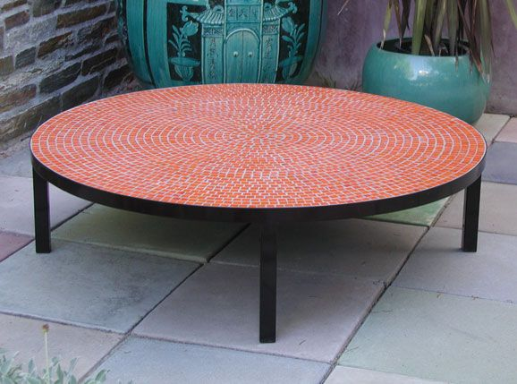 85 best tile top patio table images on pinterest patio table patio tables and tile top tables - Basics mosaic tiles patios ...
