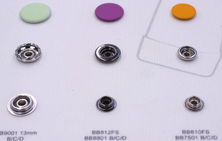 Thin& Light snaps with matte enamel colors. #trims #details #colors #matte