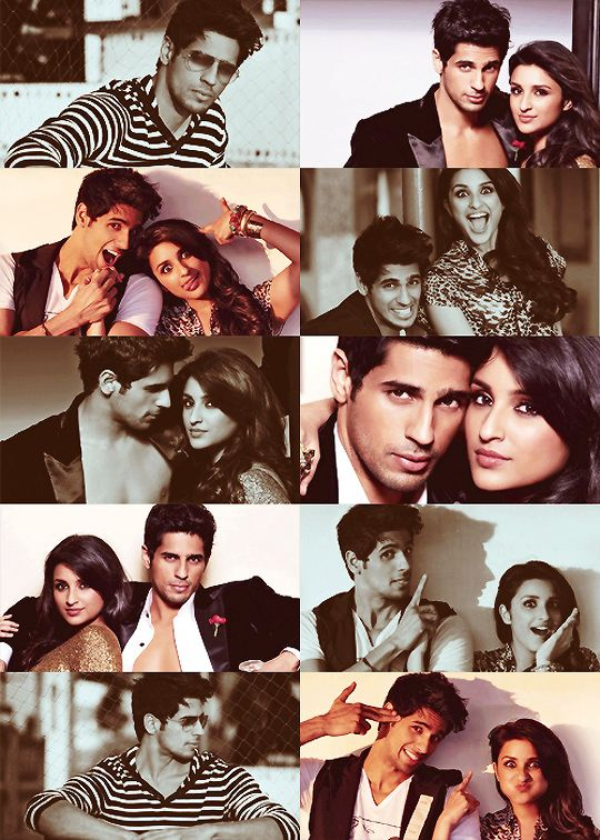 Parineeti Chopra and Sidharth Malhotra #Bollywood #Fashion