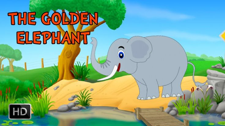 Jataka #Tales - The Golden Elephant - #MoralStories for #Children ...