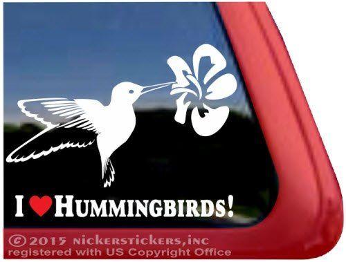 Best Vinyl Decals Images On Pinterest Vinyl Decals Window - Window alert hummingbird decals amazon