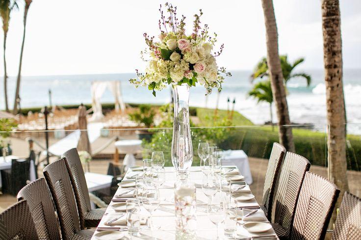 View Wedding Decor: Merriman's Maui Buyout Wedding Decor. Ocean View Dining