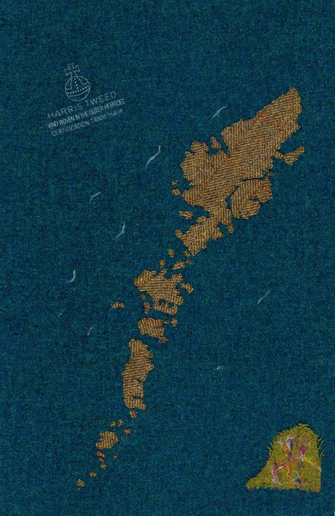 Map Of Paisley%0A Jane Hunter Image of Outer Hebrides  Machair