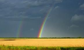 A Kansas rainbow,: Aaaaahh Kansas, Beloved Kansas, Kansas Soo, Kansas Sky, Kansas Rainbows, Kansas 3, Double Rainbows, States Kansas, Kansas Scenery