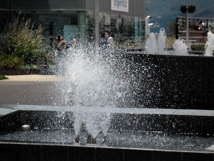 Pequeñas gotas de agua