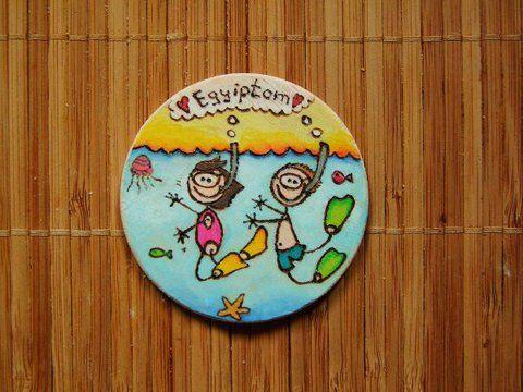 ÉVFORDULÓS hűtőmágnes - egyedi, személyre szabott ajándék, Dekoráció, Otthon, lakberendezés, Konyhafelszerelés, Dísz, Meska
