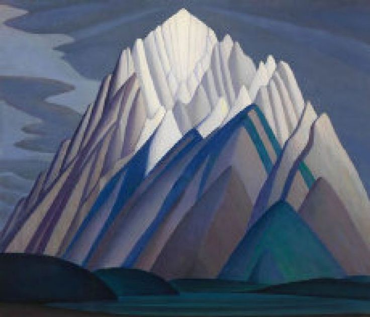 The contender: Lawren Harris, Mountain Forms, 1926, to be sold Wednesday night.