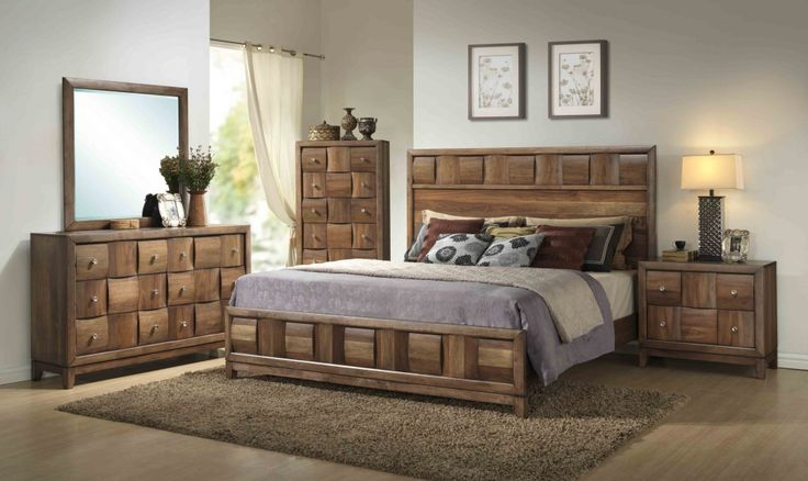 contemporary solid wood bedroom furniture - interior bedroom paint ideas