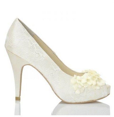 Svadobné topánky Menbur Rea