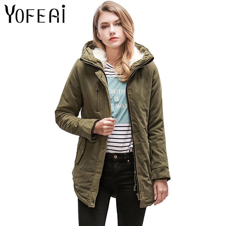 >> Click to Buy << YOFEAI 2017 Winter Coat For Women Fashion Warm Cashmere Coat Winter Jackets Hooded Cotton Jacket Casual Coat Warm Parka  #Affiliate