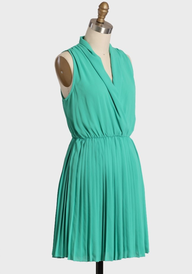 Lucky star pleated dress modern vintage dresses style pinterest
