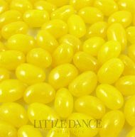 Yellow pink jelly beans for sale online in Australia. Lemon flavour.