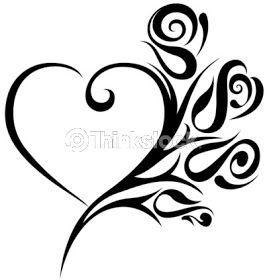 CR Tattoos Design: Small heart tattoo | http://awesometattoophotos.blogspot.com