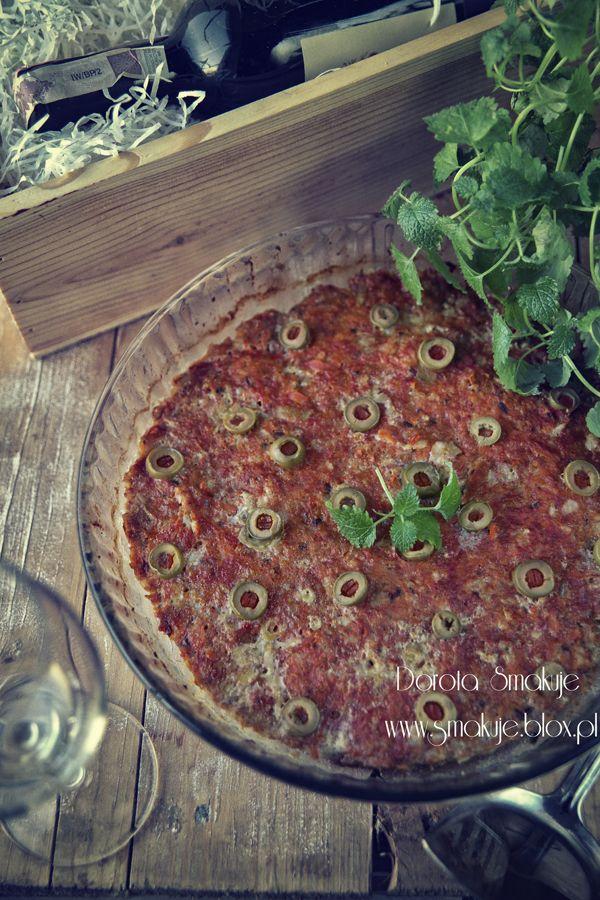 Mięso mielone a la pizza