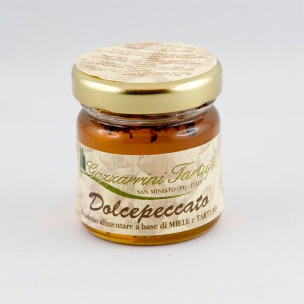 Truffle honey 40g www.manducanda.com