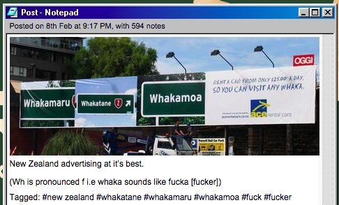 Their advertising is the best: