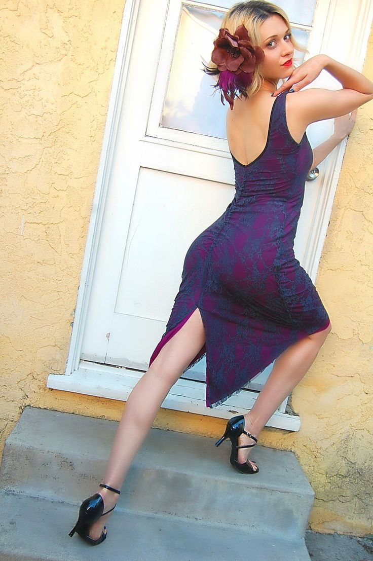 Lace Tango Dress, MIMOSA Scoop Neck Dress, pin Up Dance Dress, Low Back Dress  with Tail Ruched by TangoWithLove on Etsy https://www.etsy.com/listing/508694507/lace-tango-dress-mimosa-scoop-neck-dress