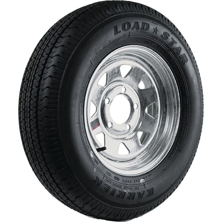 ST225/75R-15 KR03 Radial 2150 lb. Load Capacity Galvanized 15 in. Bias Trailer Tire and Wheel Assembly