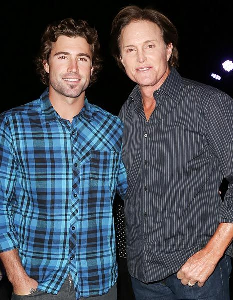 Bruce and Brody Jenner