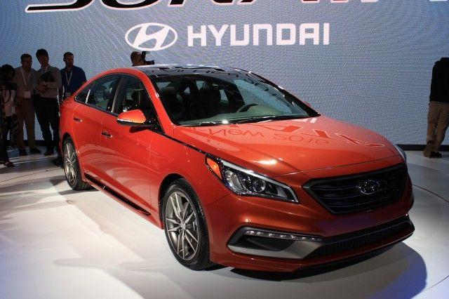 2015 Hyundai Sonata: 2014 New York Auto Show Live Photos