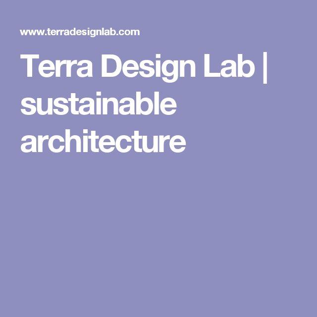 Terra Design Lab | sustainable architecture