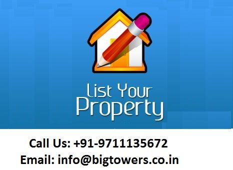Do you want to #Residential & #Commercial #Properties in #Noida? If yes, Big Towers is one stop solutions for you. You can get in touch via email or call to fulfill your real estate needs.