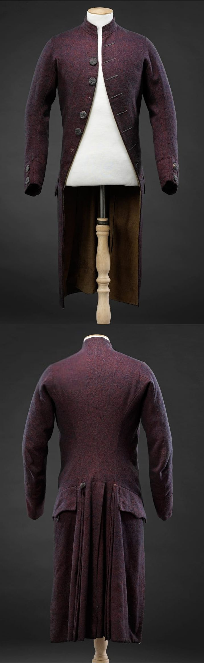 Gentleman's Frock coat, 1790s, Wool lined with linen, England | John Bright Collection