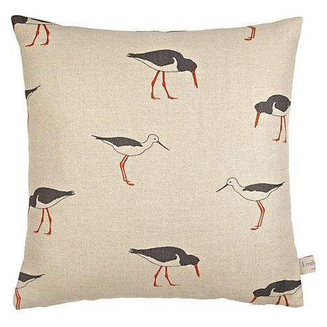 Buy Emily Bond Oyster Catcher Cushion Online at johnlewis.com