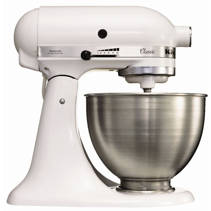 With its robust, stable and durable full-metal design, this KitchenAid Mixer is the perfect tool for any chef's culinary and baking needs.