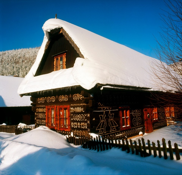 Cicmany during winter, Slovakia  http://www.flickr.com/photos/77365798@N02/