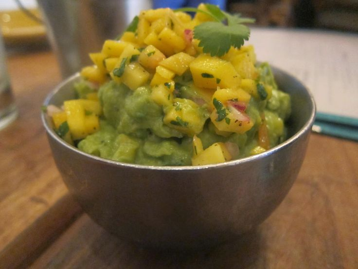 Mango Guacamole from The Painted Burro   The Economical Eater