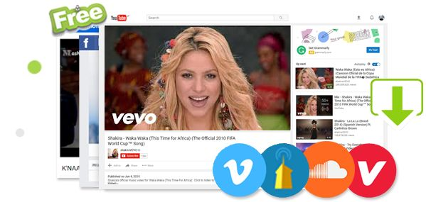 FREE Shakira World Cup Songs Downloader