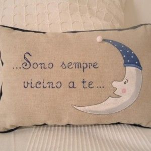 Cuscino luna Bianca