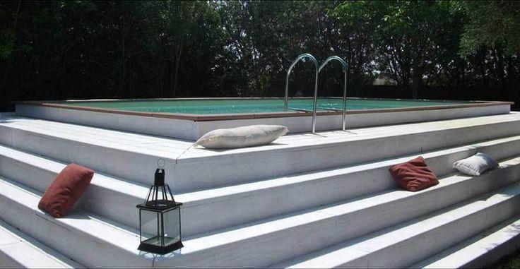 M s de 25 ideas incre bles sobre piscine gonflable en for Alberca portatil walmart