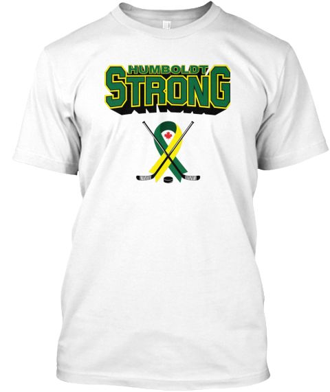 Humboldt Strong T Shirt White T-Shirt Front  df35275a8
