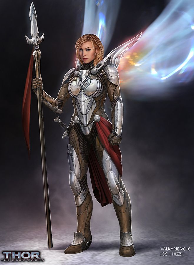 Valkyrie concept art for Thor: The Dark World I want one of this armors. Just... I want!