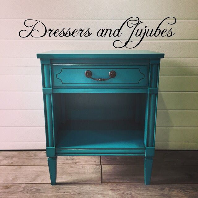 Teal Nightstand Projects In 2019 Bedroom Decor Teal