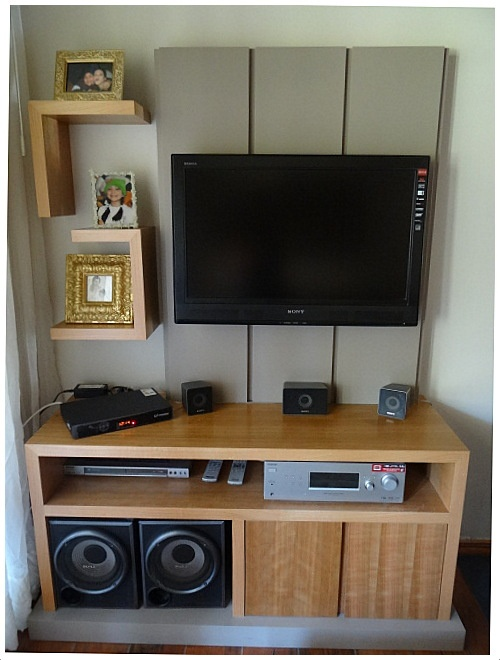 18 best images about mueble para tv on pinterest mesas for Mueble que esconde tv