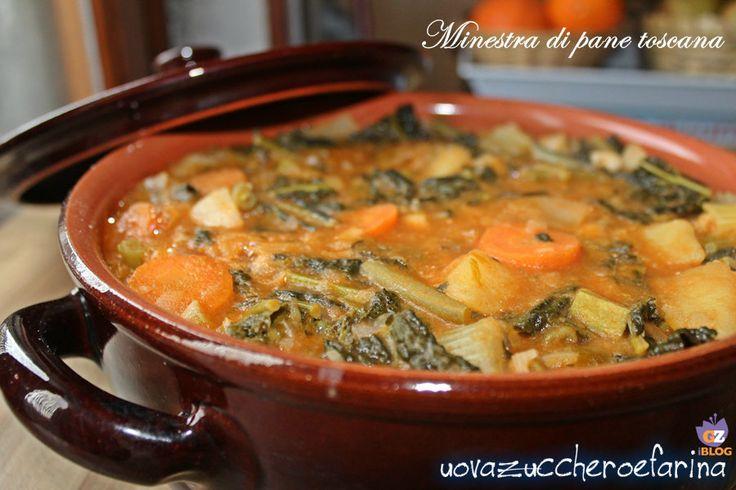 La minestra di pane toscana, da non confondere con la Ribollita, è una zuppa povera della cucina toscana composta da verdure e pane raffermo.
