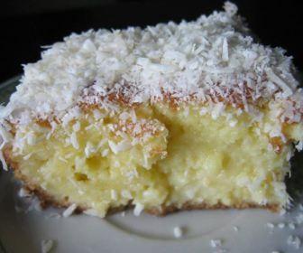 Receita de bolo de coco - Show de Receitas