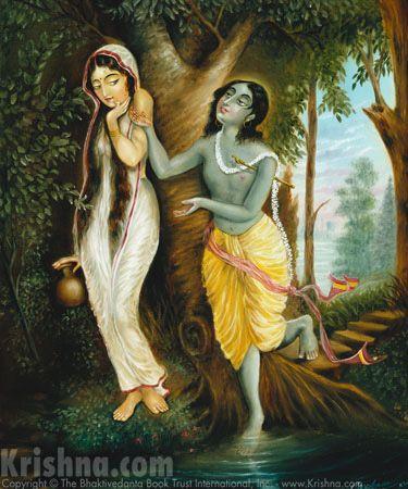 """radhakrishna123: """" A very Beautiful and Rare photo of Radha Krishna…… The Divine Couple For more,visit:http://files.krishna.com/cgi-bin/ImageFolio42/imageFolio.cgi?search=Radharani&img=0&cat=Krishna_Conscious_Paintings&bool=and """""""