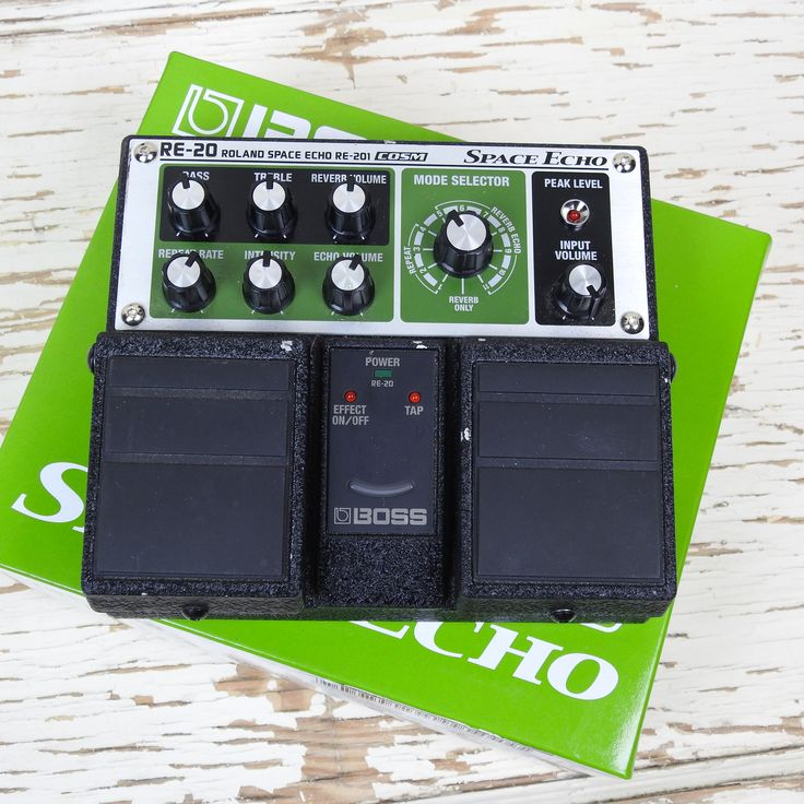 Used: Boss Roland Space Echo RE-20 Stereo Delay