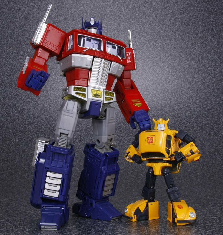 Transformers Masterpiece MP-10 Convoy (Optimus Prime) and MP-21 Bumble (Bumblebee)